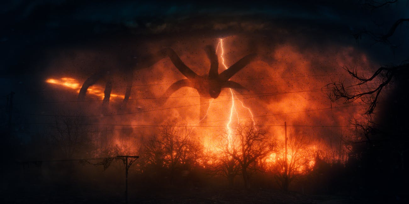 The Mind Flayer from Stranger Things Season 2