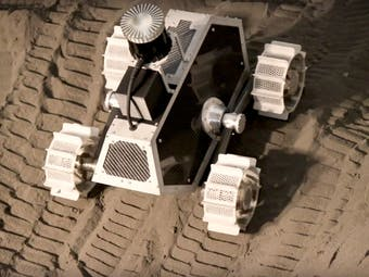 lunar prospector testbed