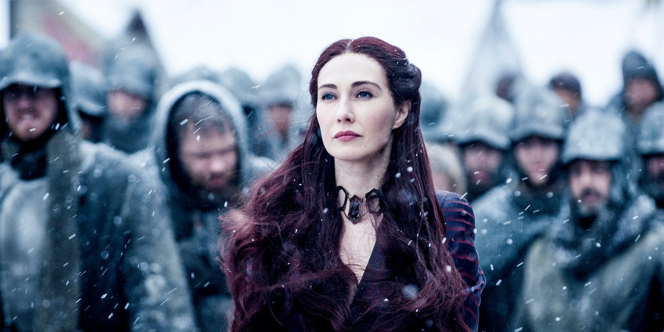 Carice Van Houten as Melisandre, aka The Red Woman, on 'Game of Thrones'