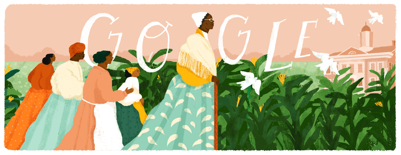 The Google Doodle for February 1, 2019, honoring the life of Sojourner Truth.