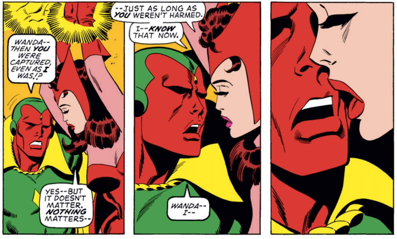 Marvel Scarlet Witch Vision Avengers