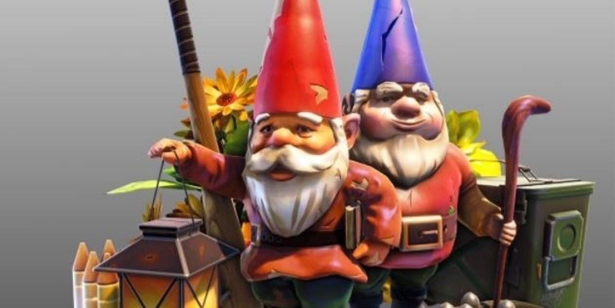 'Fortnite' gets a weird gnome hunt as the latest challenge.