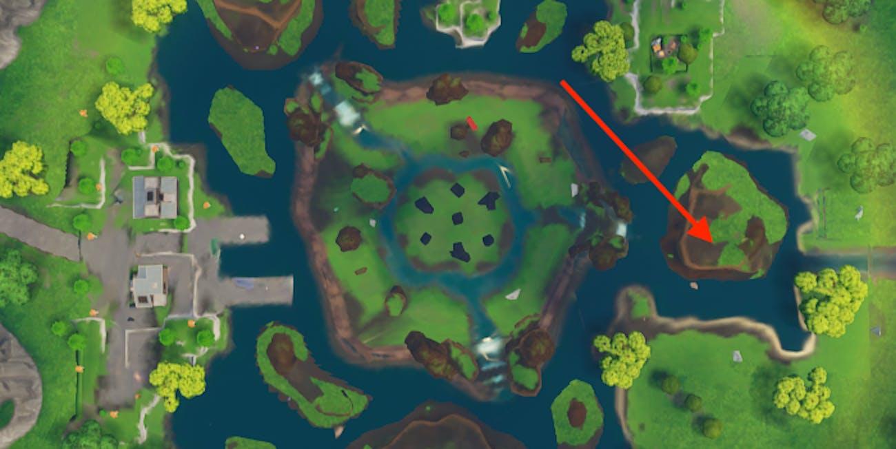 'Fortnite' Leaky Lake