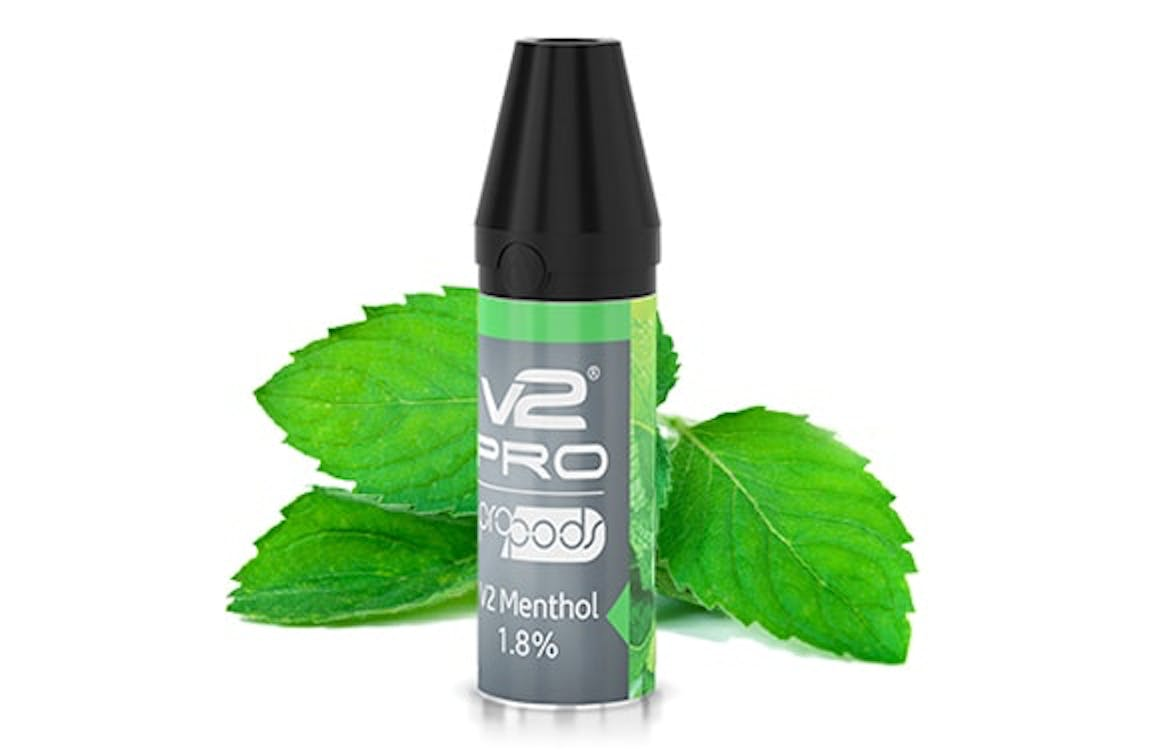 V2 Menthol Pro Pods taste more minty than straight menthol, making them really refreshing.