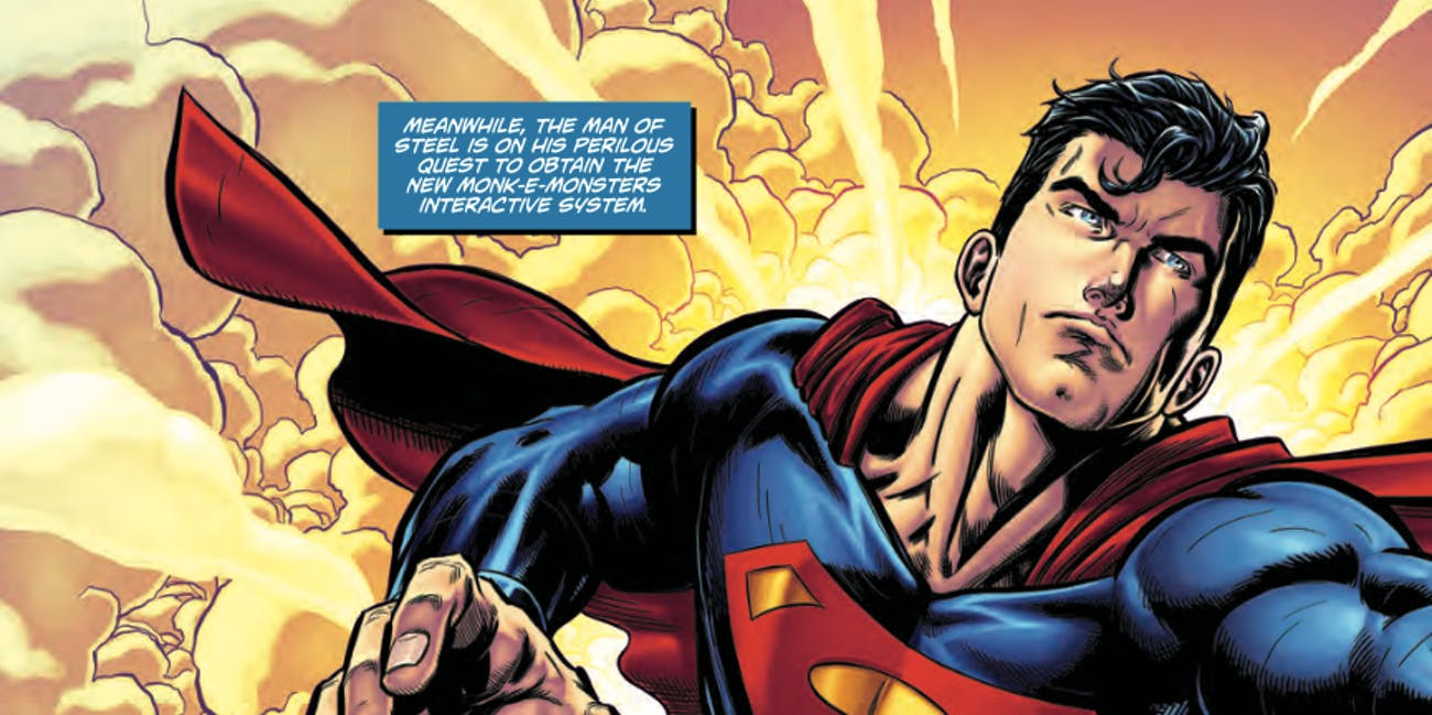 92bc5aac53 DC Comics Just Released a Superman  Jingle All the Way  Comic