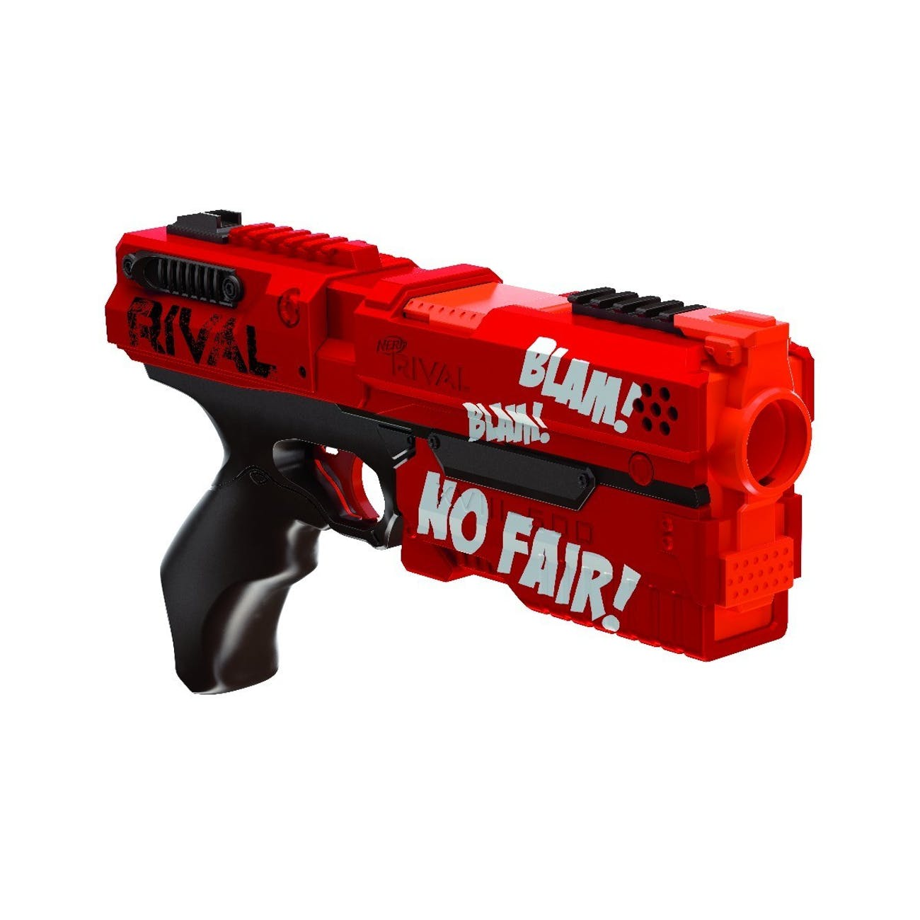 The Deadpool-themed Nerf gun is perhaps the most intense-looking Nerf gun ever.