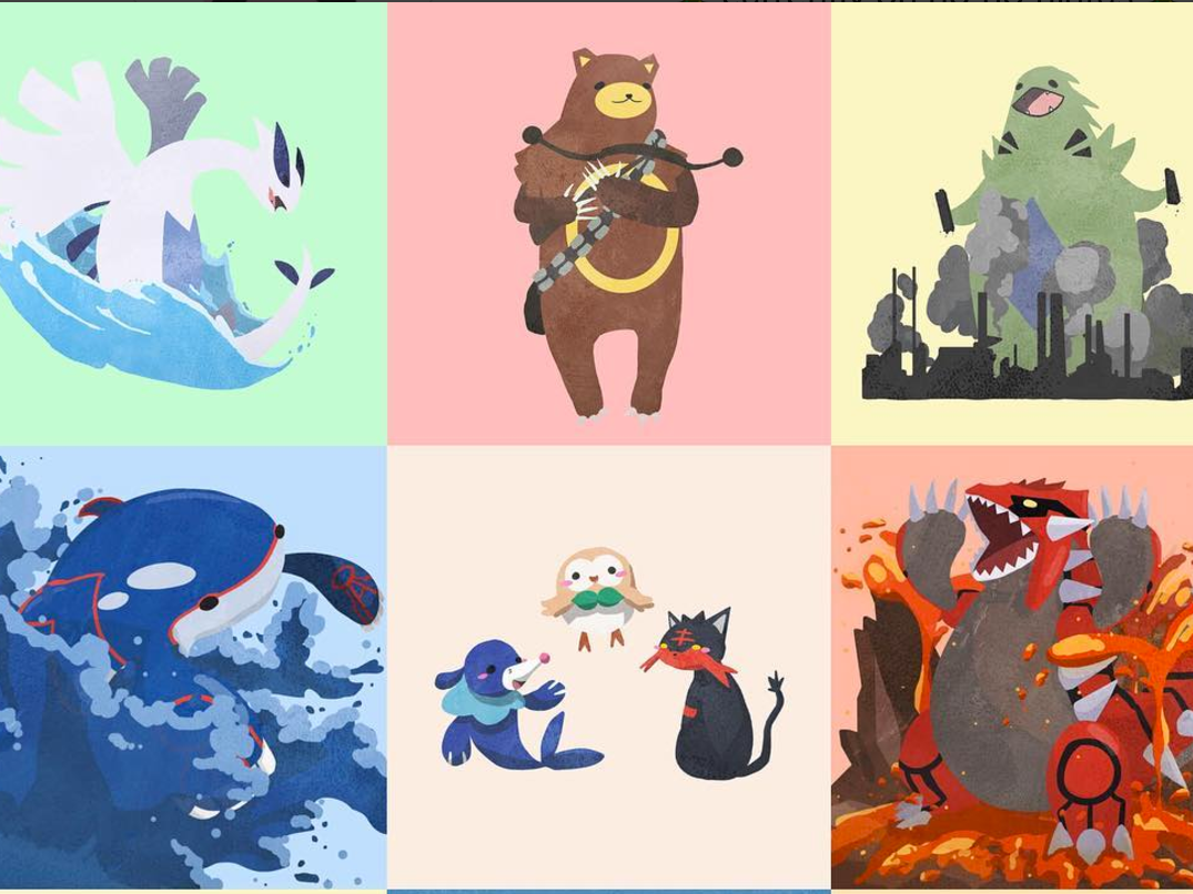 This Is the Pokemon Fan Art You've Been Searching For