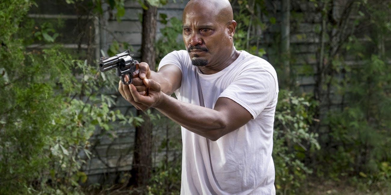 The Walking Dead Father Gabriel Illness