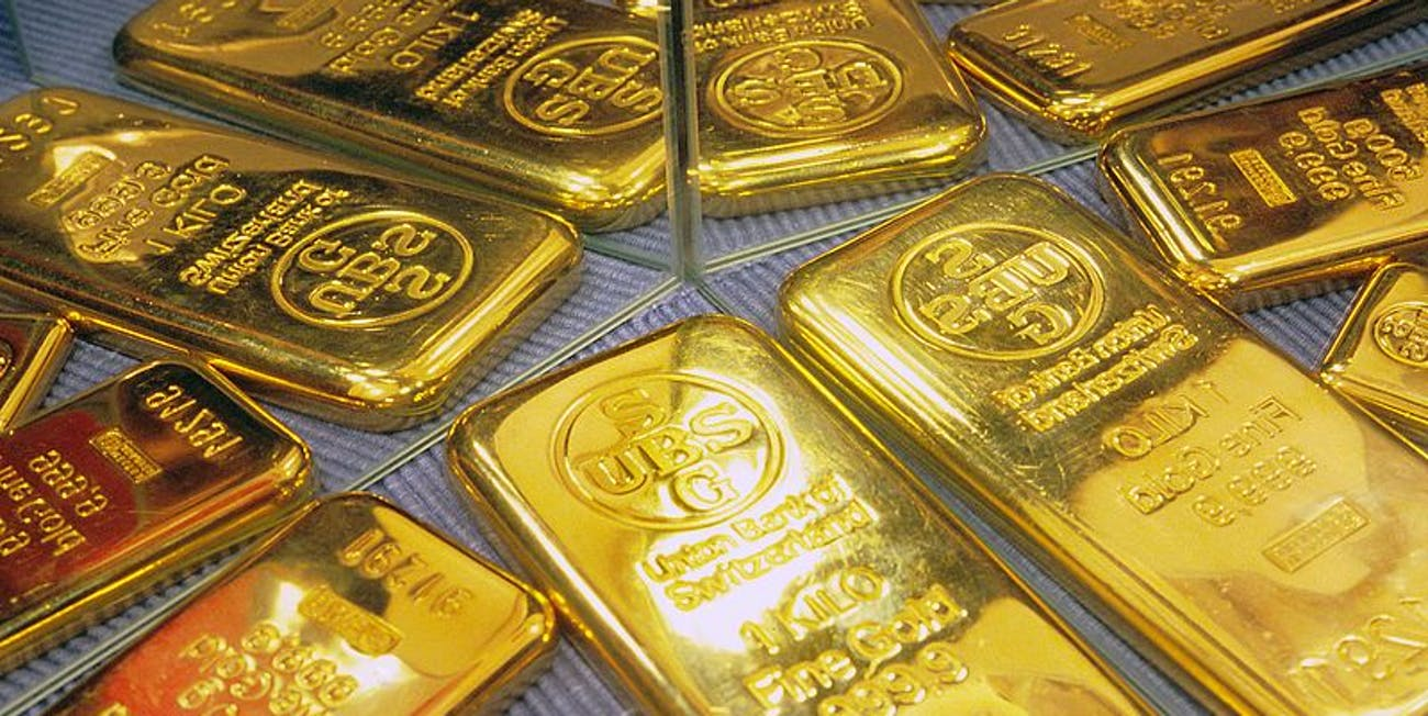 There's a lot of gold in Switzerland.