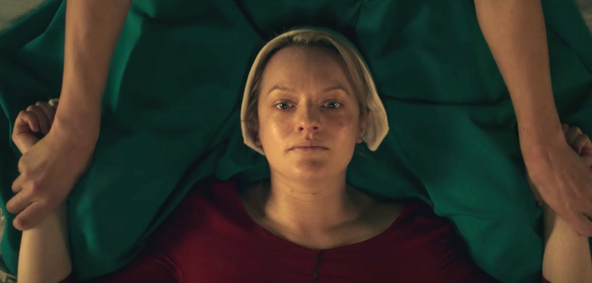 Www Husbandwifesex Good why serena holds offred down in 'the handmaids tale' sex scene