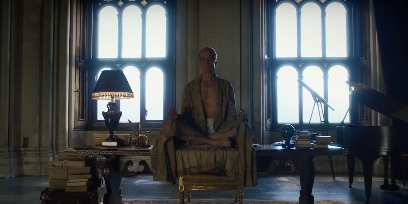 """Jeremy Irons as Adrian """"Ozymandias"""" Veidt in HBO's 'Watchmen'"""
