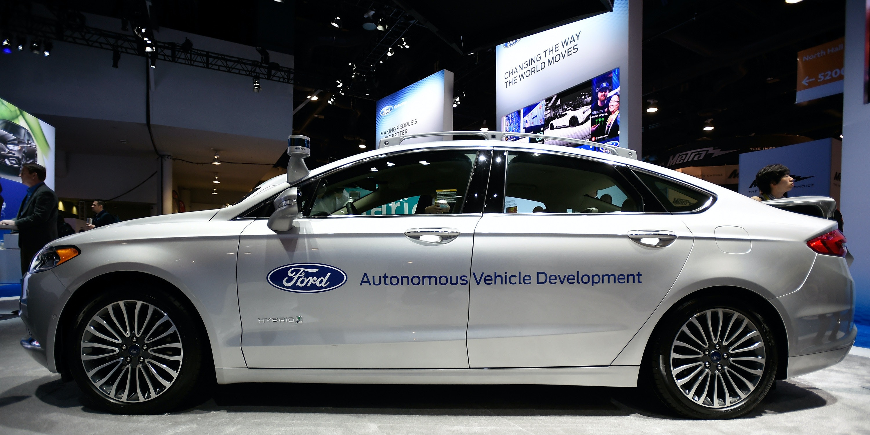 Ford is Going to Spend $1 Billion on Autonomous Car Technology