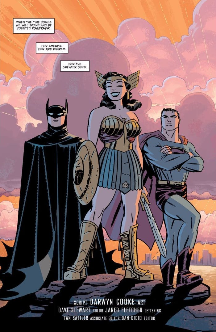 Justice League The New Frontier