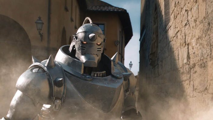 Alphonse Elric, a disembodied soul that gets attached to a suit of armor.