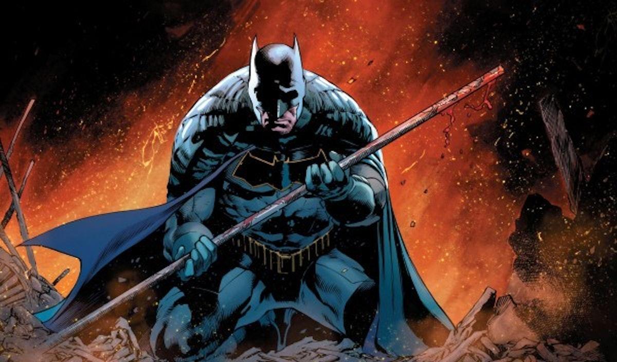 Batman mourns the loss of Tim Drake in DC's Detective Comics