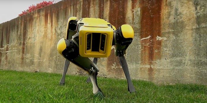 Boston Dynamics SpotMini robot dog