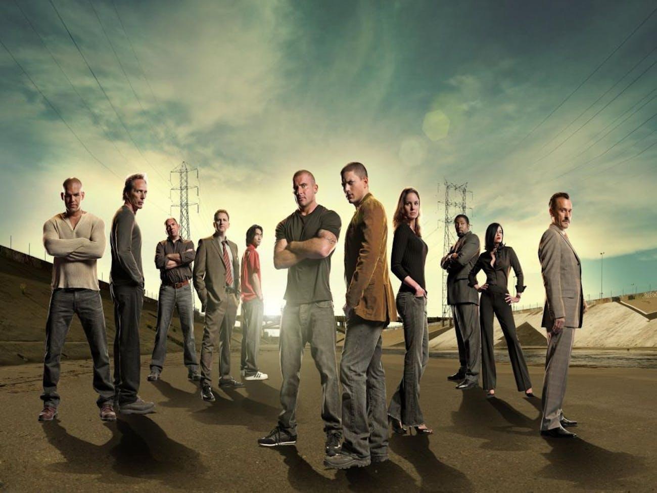 Wentworth Miller in 'Prison Break'