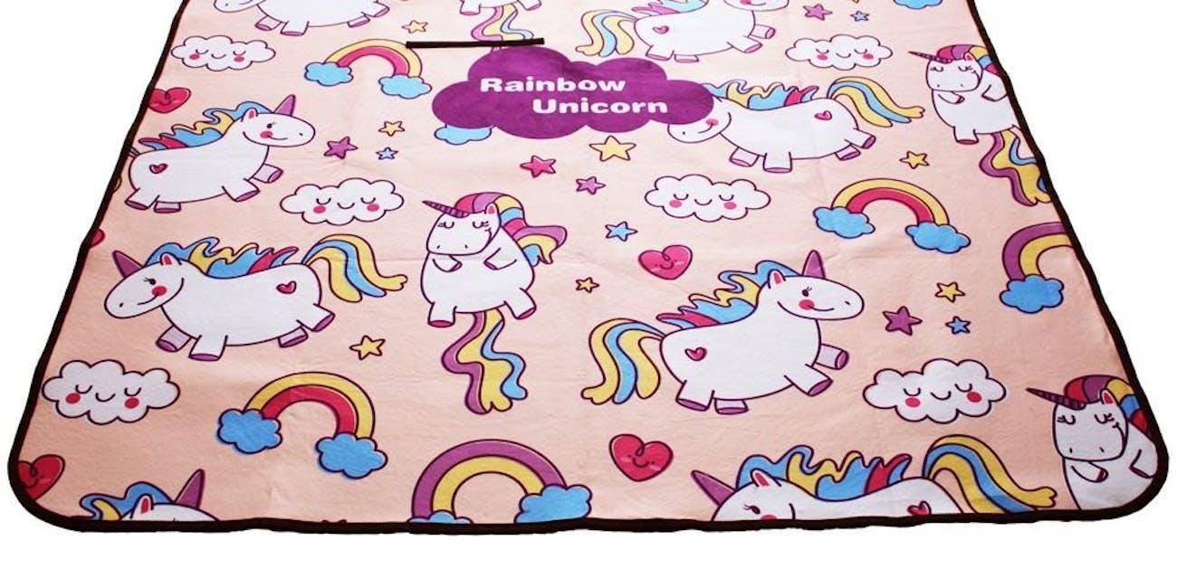 Missley Unicorn Picnic & Outdoor Blanket