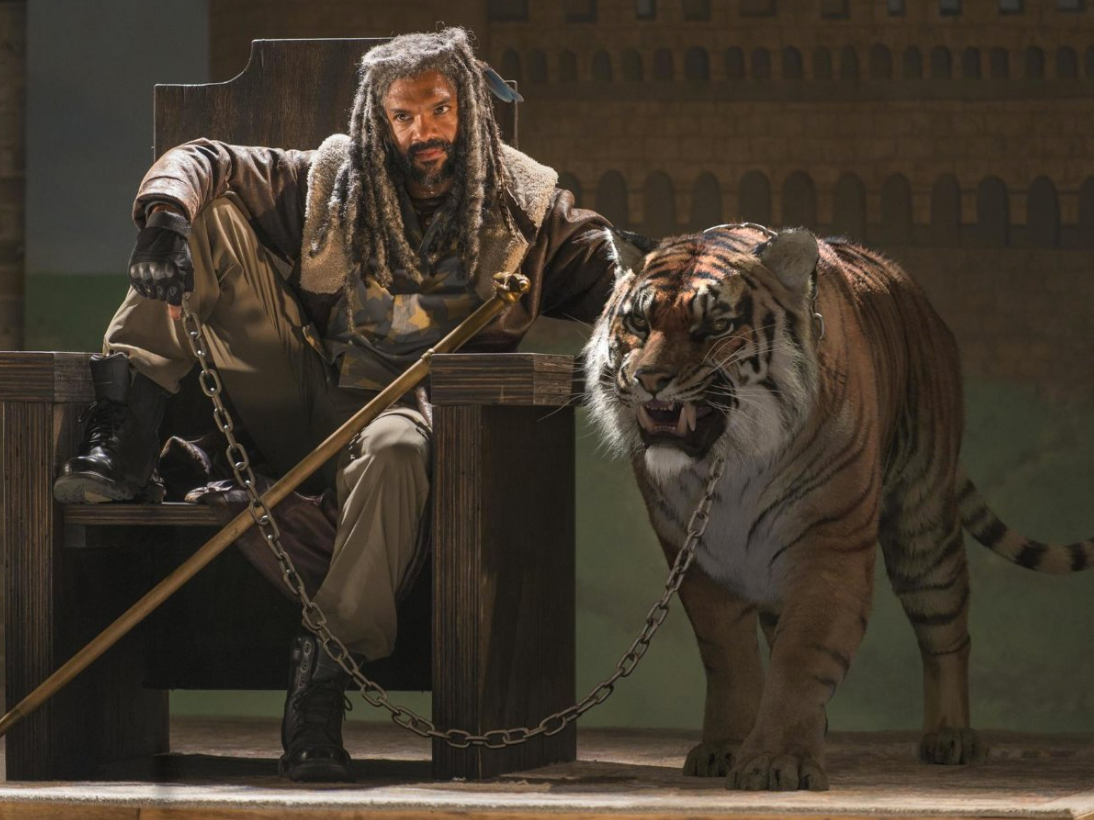 Ezekiel on 'The Walking Dead' Needs to Get His Tiger a Pool