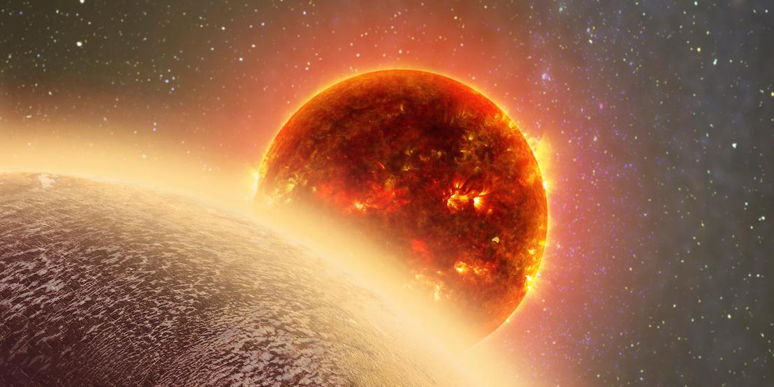 The rocky expoplanet GJ 1132b.