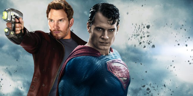 Star-Lord chris Pratt Superman