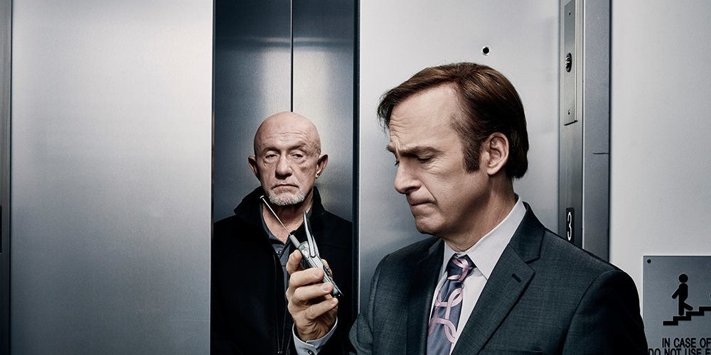 Jonathan Banks and Bob Odenkirk in 'Better Call Saul.'