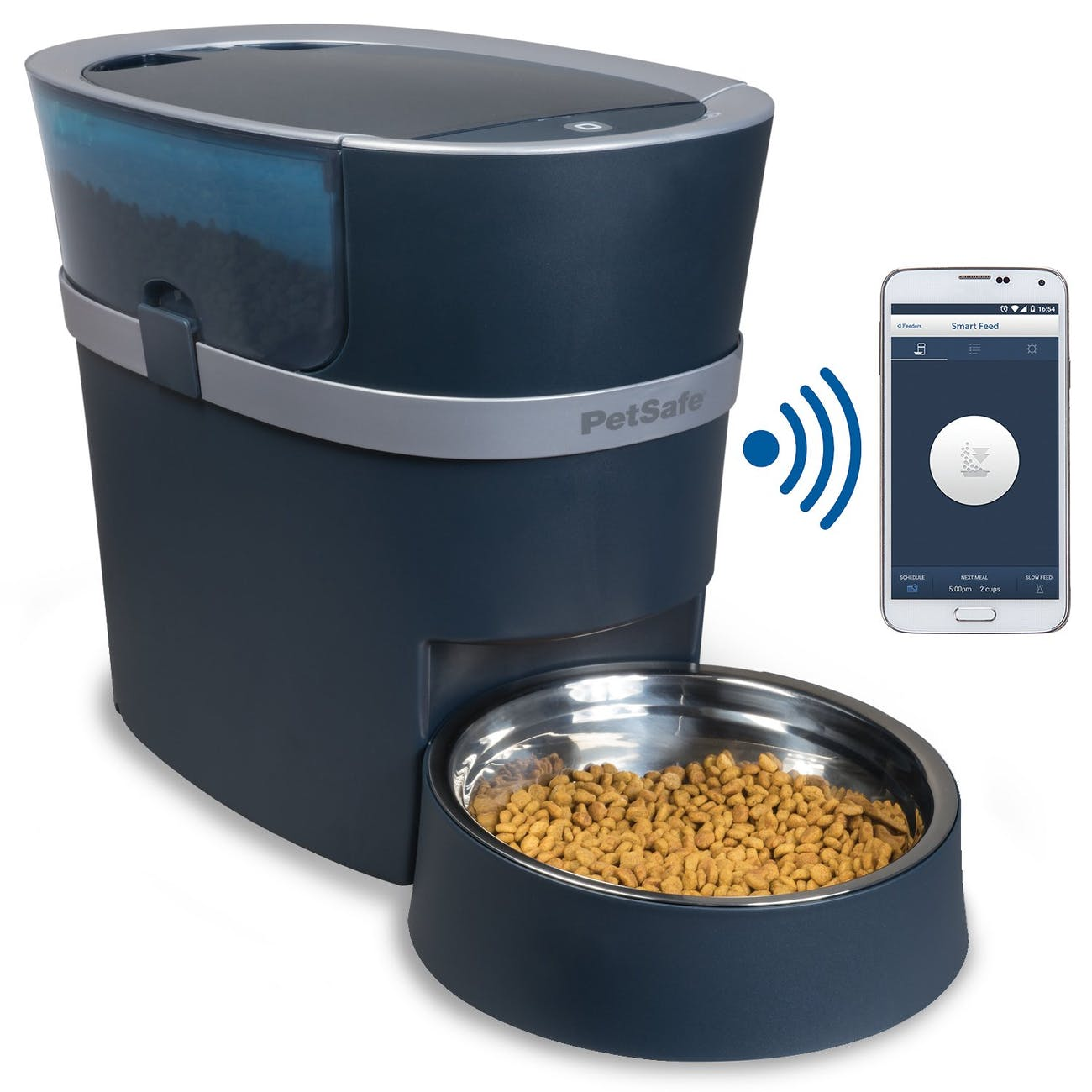 smart home pet, automatic pet feeder, wifi-enabled pet feeder