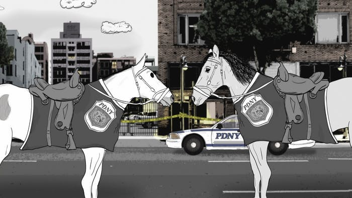 Horses in HBO's 'Animals'