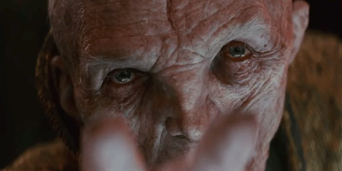 Big 'The Last Jedi' spoilers about Snoke might come out of a 'Battlefront II' DLC.