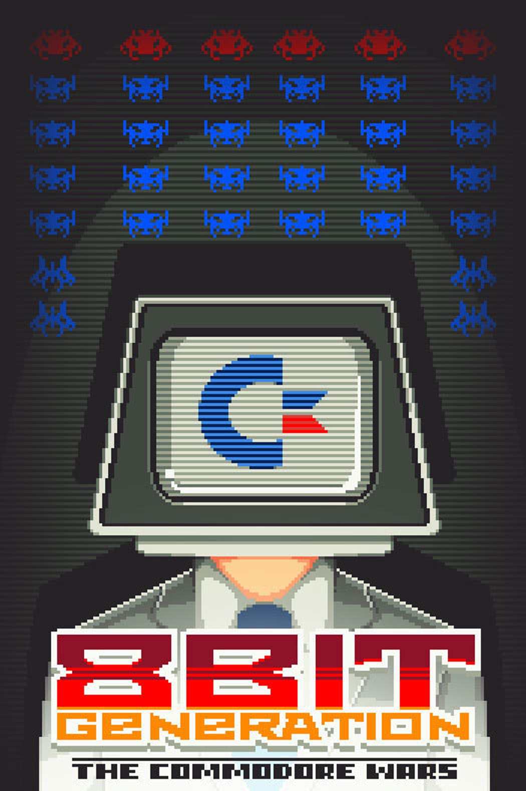 Exclusive premiere of '8 Bit Generation: The Commodore Wars' poster.