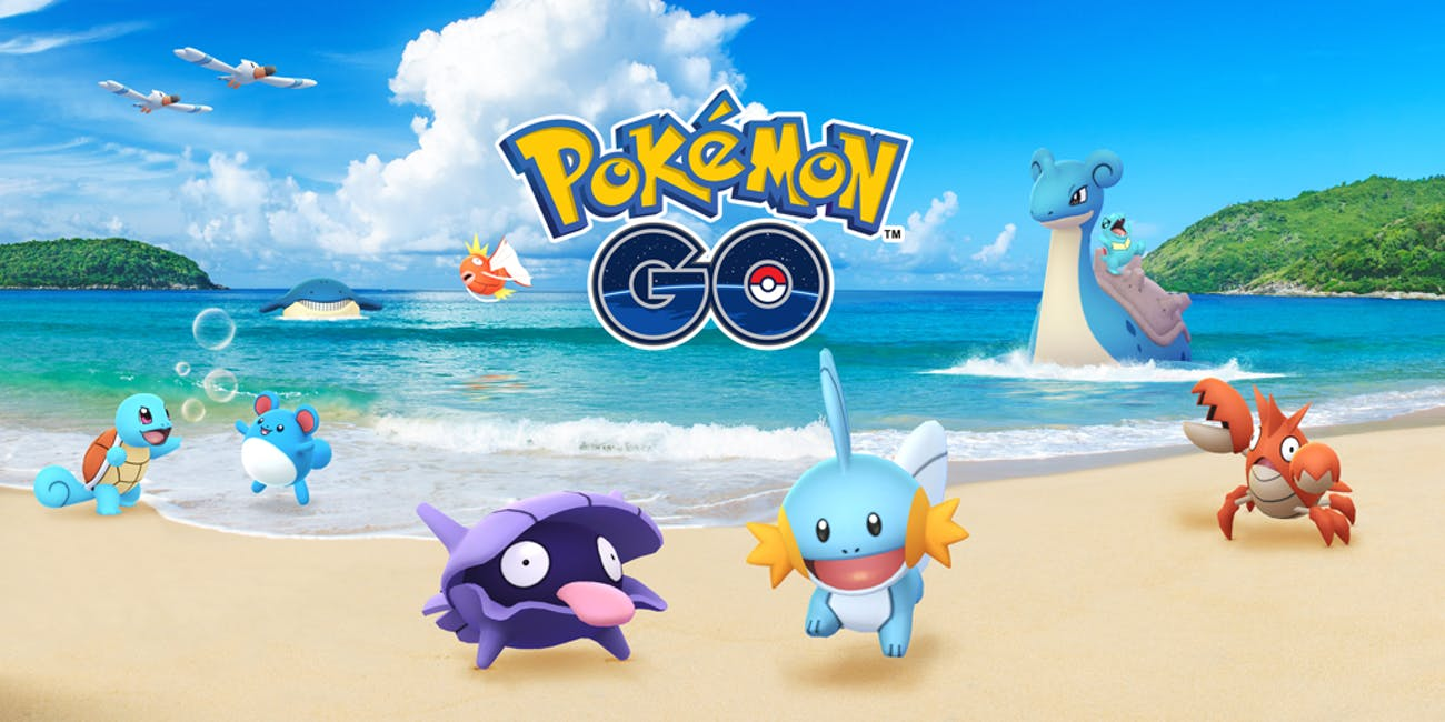 Pokemon Go Water Festival 2018