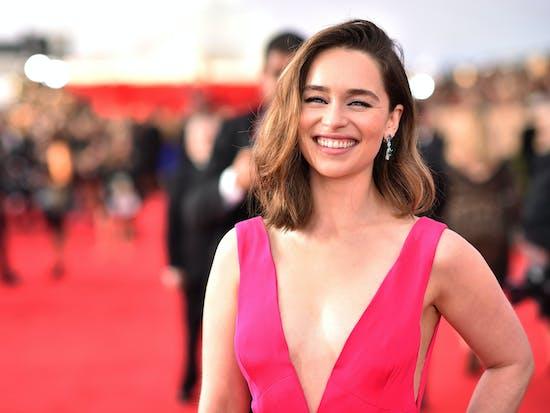 Emilia Clarke, Daenerys Targaryen Herself, Cast in 'Han Solo'
