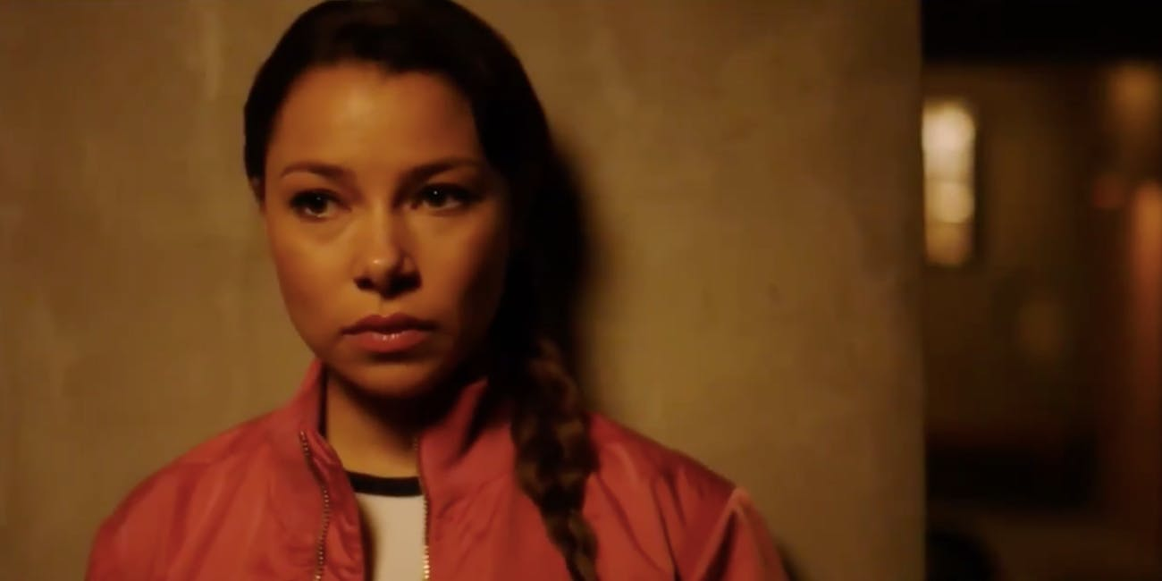 Actress Jessica Parker Kennedy plays the Mystery Girl in Season 4 of 'The Flash'