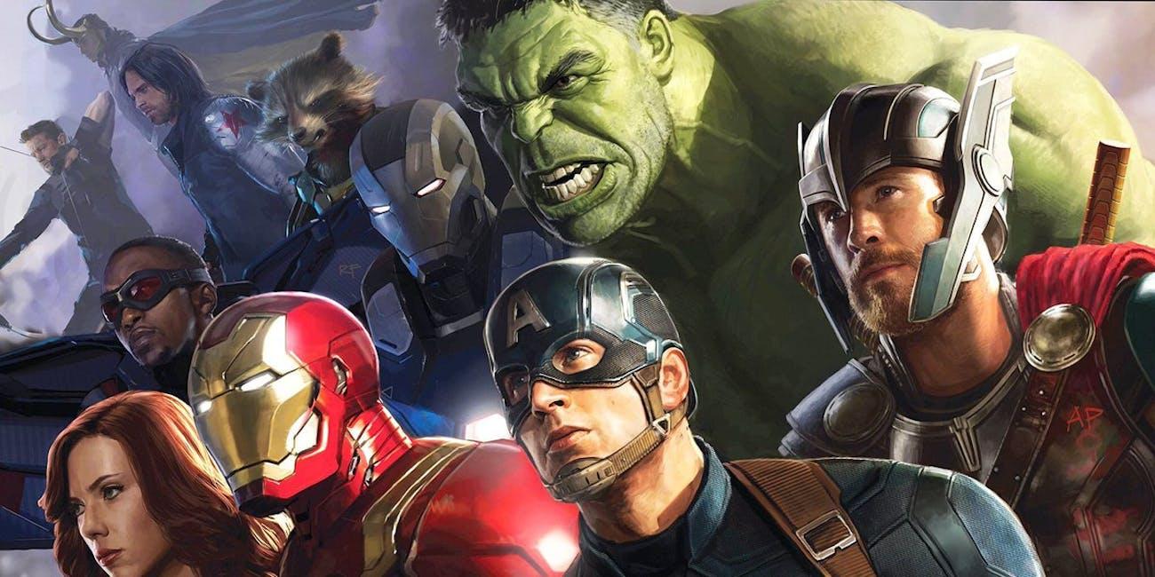 Andy Park Avengers Infinity War