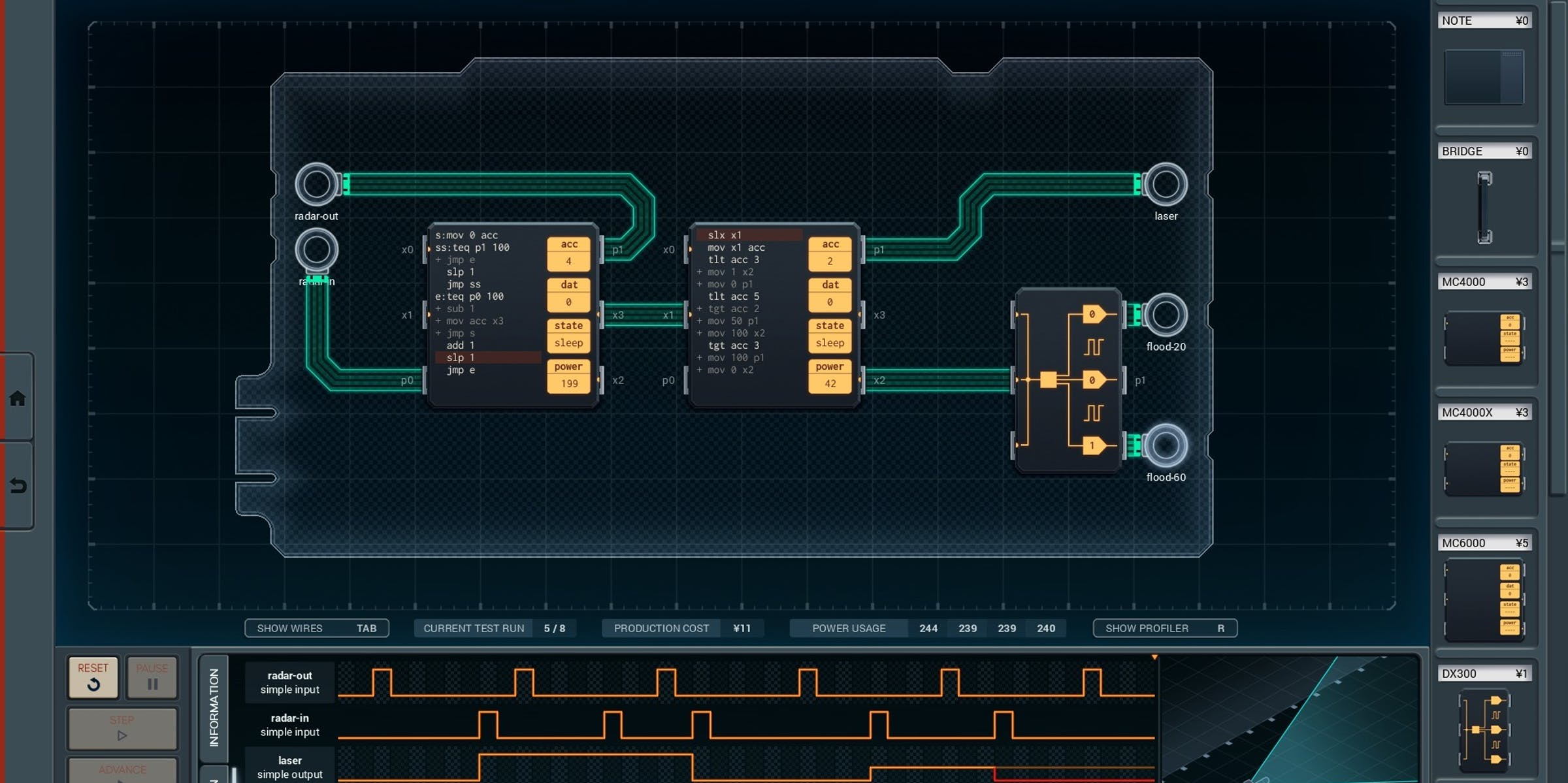 Shenzhen I O Is An Abstract Educational Game Inverse Circuit Diagram Electronics For U Circuits Education Good Tools Welcome To Learning The Intentionally Hard Way