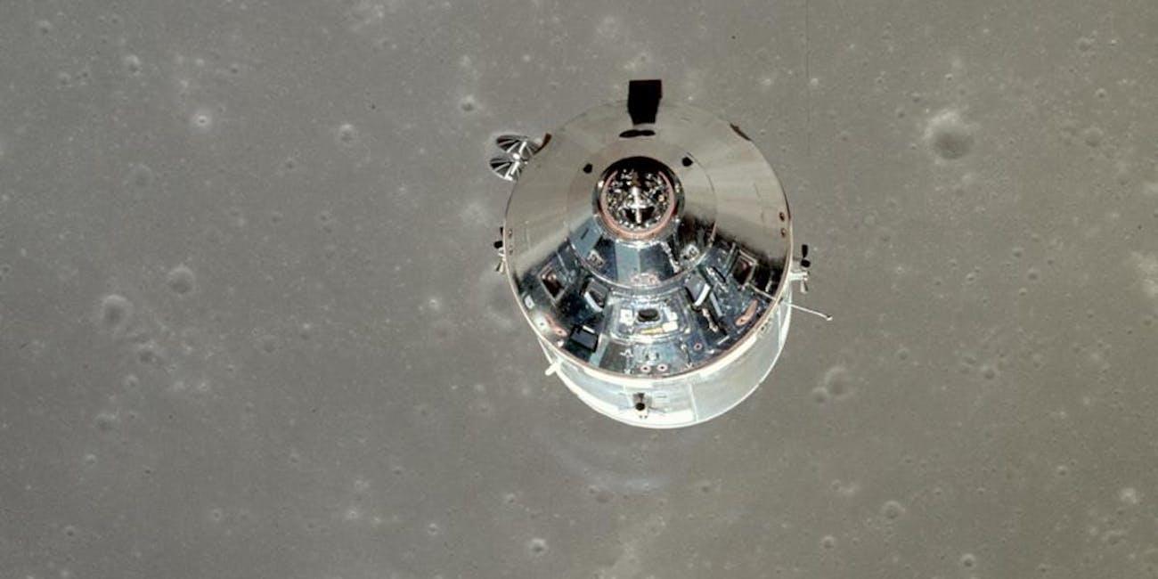 50th Anniversary Apollo 11 Moon Landing Comman Module Kapton Foil