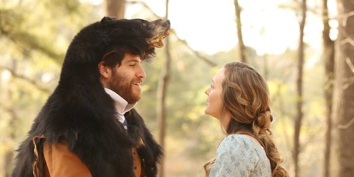 Adam Pally and leighton Meester in 'Making History'