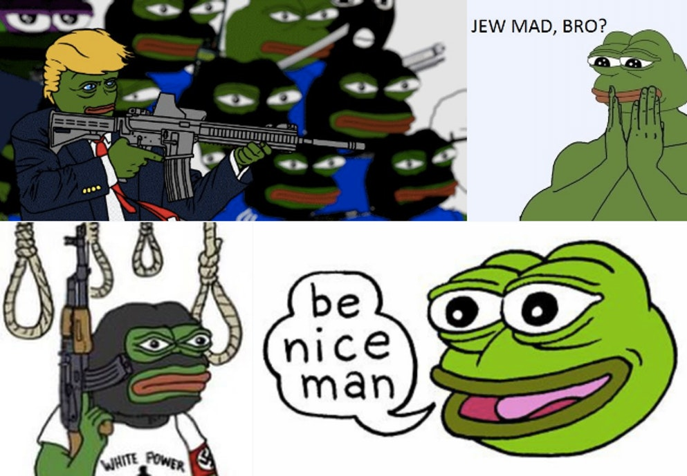 The images that come up on #SavePepe.