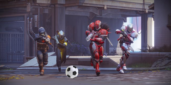 The Farm in 'Destiny 2' will have scored soccer.