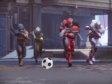 The Farm in 'Destiny 2' will have scored soccer.