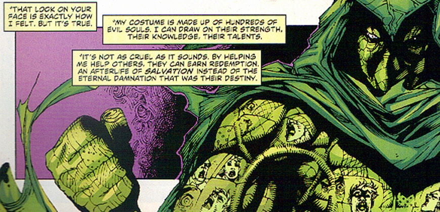 Ragman of the original DC comics explains his powers.
