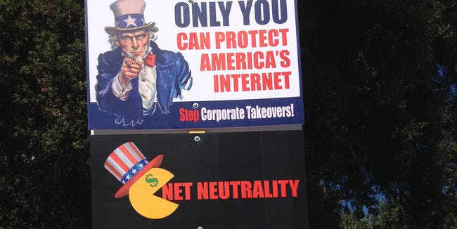 Obama in the Backseat: Rally to Save the Internet