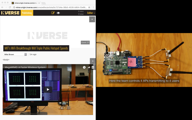 MIT's MegaMIMO 2 0 Wifi Breakthrough Will Triple Public Hotspot