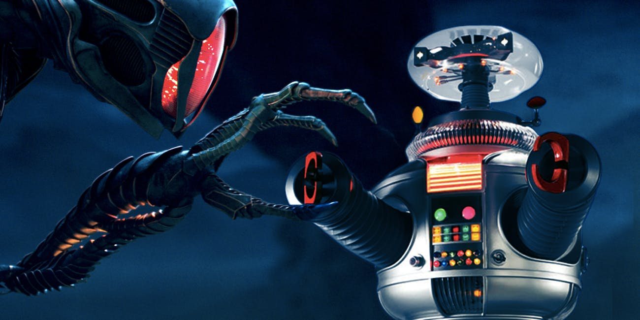 Danger! Robots are scary (in Lost in Space)
