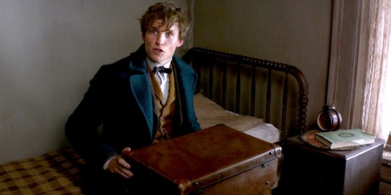 Jacob and Newt's suitcase in 'Fantastic Beasts and Where to Find Them'
