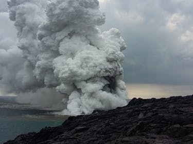 """The Volcano Viewing Site That Sunk Into the Sea Is Only """"Temporarily Closed"""""""