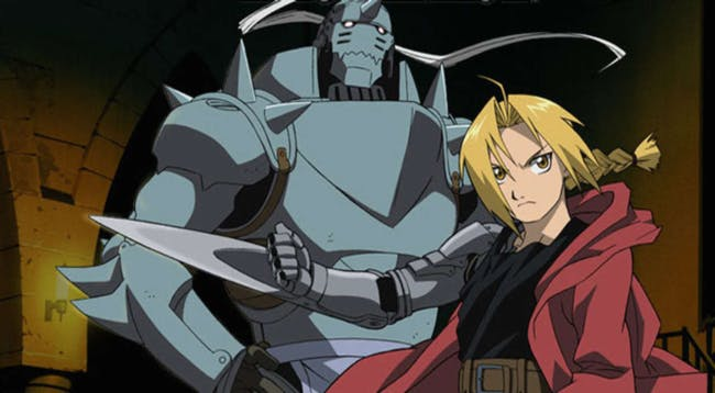 Edward and Alphonse Elric as they appear in the anime.