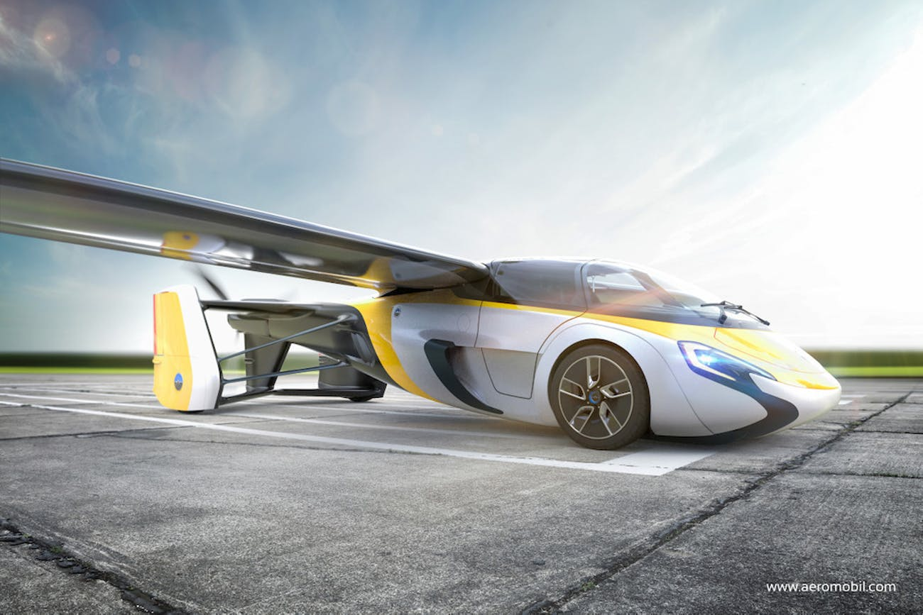 Slovakia might be one of the first places to get a flying car from Aeromobil.