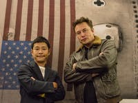 elon musk yusaku maezawa spacex bfr lunar mission
