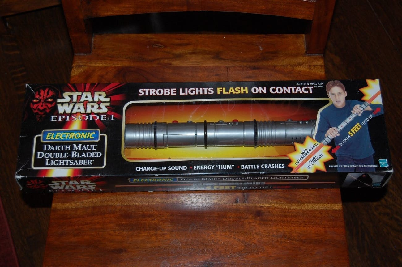 Darth Maul Lightaber Toy